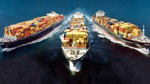 การบริการขนส่งทางทะเล